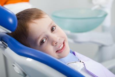 Young boy at dentist | Avondale Auckland