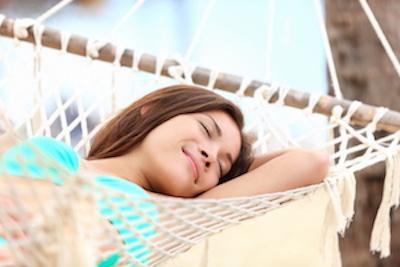 woman in hammock | auckland nz dentist