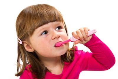 Young girl brushing teeth | Avondale Auckland